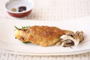 白身魚のねぎ味噌焼き