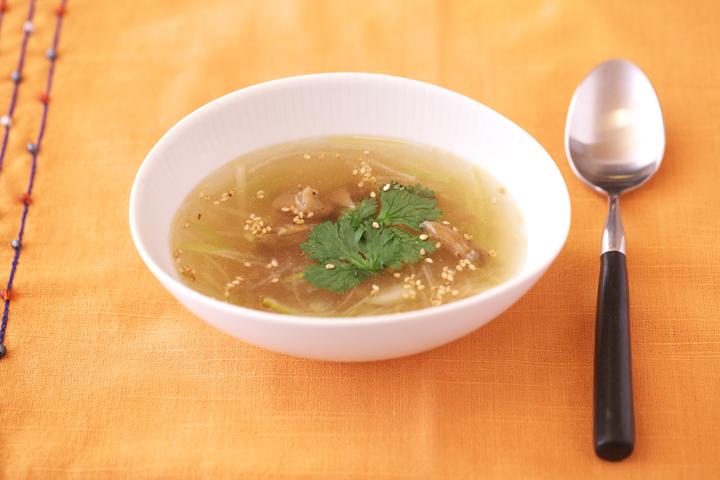 ザーサイの中華スープ