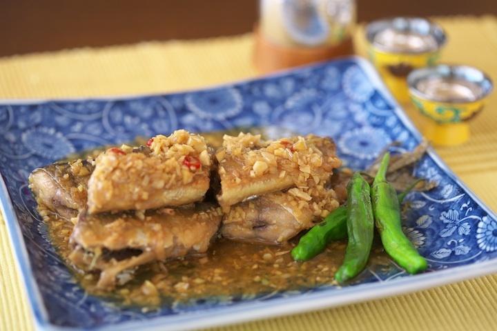 さんまの中華煮