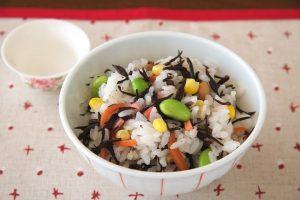 簡単ひじき酢飯