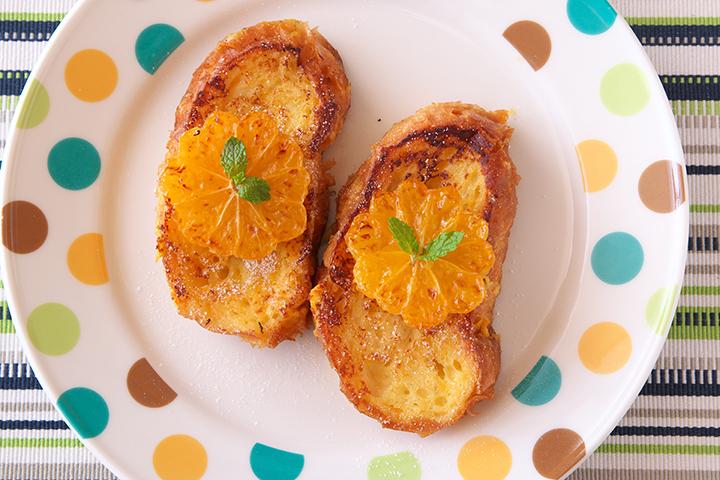 みかんのフレンチトースト