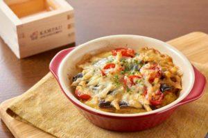 サンマのカレーポテトのチーズ焼き